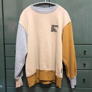 GU - GU ジーユー コラボ kappa ビッグスウェットシャツ