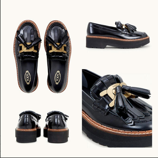 TOD'S - 【即完売レア商品】TOD'S トッズ Kate leather loafers
