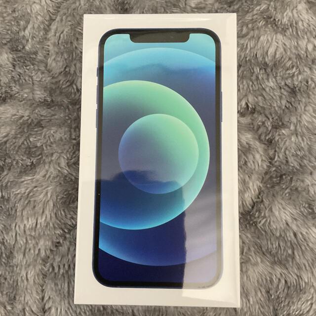 Apple(アップル)のiPhone 12 ブルー 128 GB SIMフリー スマホ/家電/カメラのスマートフォン/携帯電話(スマートフォン本体)の商品写真
