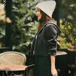 FOXEY - FOXEY フォクシー  sea breeze parka カシミヤパーカ
