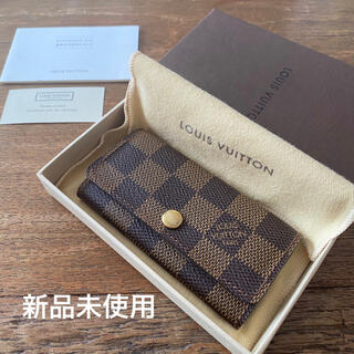 LOUIS VUITTON - LOUIS VUITTON ルイヴィトン ダミエ キーケース 4連 モノグラム