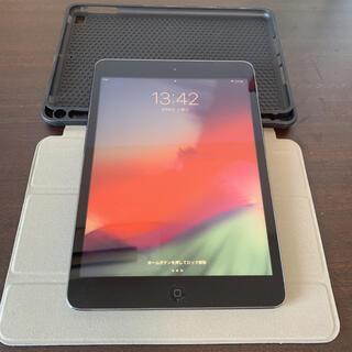 iPad - iPad mini 2 32GB グレー ケース付き