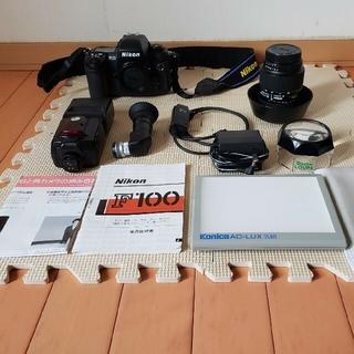 Nikon - 終了間近【お買い得セット】NikonニコンF100 スピードライトセット