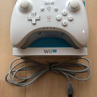 Wii U PROコントローラー 白(その他)