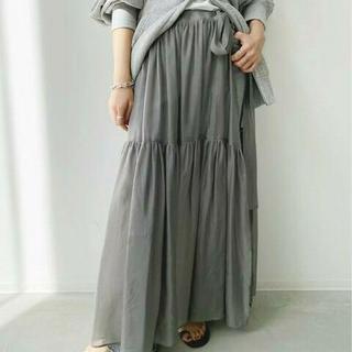 L'Appartement DEUXIEME CLASSE - 新品タグ付 アパルトモン Cupra Silk Organdy Skirt