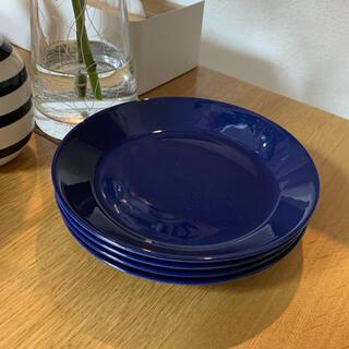 イッタラ(iittala)の廃盤色◆貴重◆イッタラ ティーマ 17センチ ブルー 2枚セット(食器)