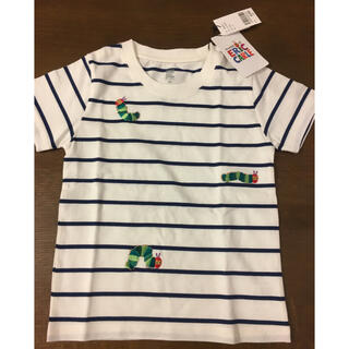 グラニフ(Design Tshirts Store graniph)のグラニフ はらぺこあおむし ボーダー 半袖Tシャツ 110サイズ(Tシャツ/カットソー)