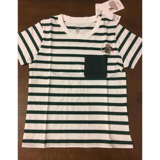 グラニフ(Design Tshirts Store graniph)のグラニフ レオレオニ ボーダー 半袖Tシャツ 110サイズ(Tシャツ/カットソー)