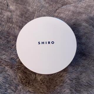 シロ(shiro)のタピオカフェイスパウダー(フェイスパウダー)
