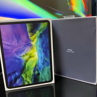 iPad - (最新型)iPad Pro 11インチ 256GB スマートフォリオ付