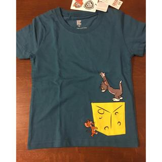 グラニフ(Design Tshirts Store graniph)のグラニフ トム&ジェリー アップリケ 半袖Tシャツ 110サイズ(Tシャツ/カットソー)