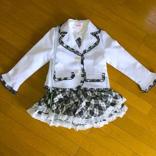 130女の子セットアップ(ドレス/フォーマル)