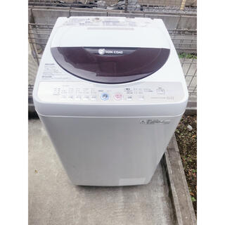 SHARP - 【2010年製】SHARP洗濯機6.0kg