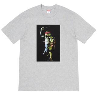 シュプリーム(Supreme)のSupreme Raphael tee XL Heather Grey SS21(Tシャツ/カットソー(半袖/袖なし))