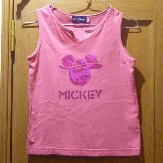 ディズニー(Disney)の東京ディズニーリゾート ミッキーのタンクトップ サイズ150 <d535>(Tシャツ/カットソー)