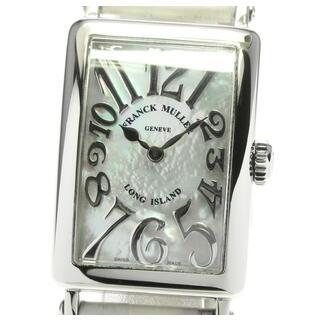 フランクミュラー(FRANCK MULLER)の☆良品 フランクミュラー ロングアイランド レディース 【中古】(腕時計)
