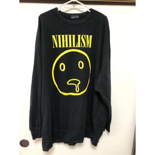 ラッドミュージシャン(LAD MUSICIAN)のLAD MUSICIAN nihilism ビッグスウェット(スウェット)