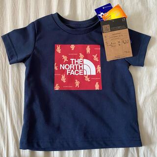 THE NORTH FACE - 新品タグ付 ノースフェイス 80cm Tシャツ  ネイビー ベビー キッズ