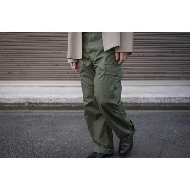COMOLI(コモリ)の新品 CIOTA スビンコットン ウェザー ジャングルファティーグパンツ シオタ メンズのパンツ(ワークパンツ/カーゴパンツ)の商品写真