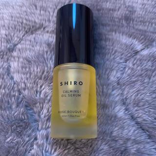 シロ(shiro)のローズブーケ クリアスキンオイルセラム(美容液)