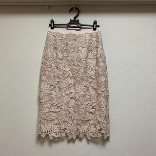 JUSGLITTY - *美品*◆JUSGLITTY◆レースタイトスカート
