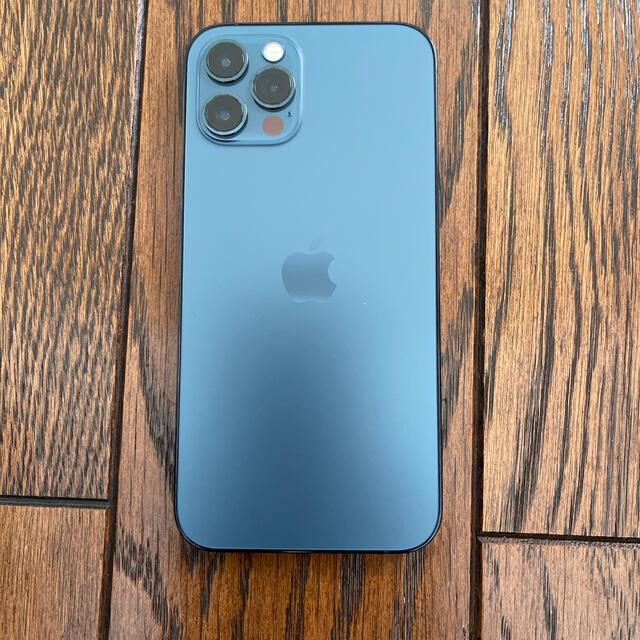 iPhone(アイフォーン)のiPhone 12 Pro  128GB パシフィックブルー simフリー スマホ/家電/カメラのスマートフォン/携帯電話(スマートフォン本体)の商品写真