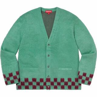 Supreme - 【Mサイズ】 Brushed Checkerboard Cardigan