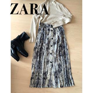 ZARA - ZARA パイソンスカート