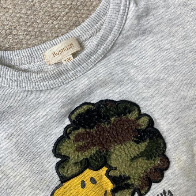 HusHush(ハッシュアッシュ)のhushush ウッドストック トレーナー 100 キッズ/ベビー/マタニティのキッズ服男の子用(90cm~)(Tシャツ/カットソー)の商品写真