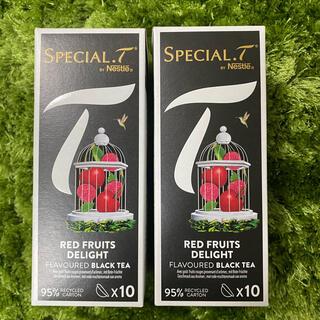 ネスレ(Nestle)の【おまけ付き!】ネスレスペシャルtカプセル レッドフルーツディライト2箱♪(茶)