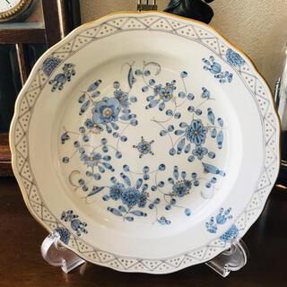 マイセン(MEISSEN)のマイセン インドの華 ブルー プレート 約20cm 1枚(食器)