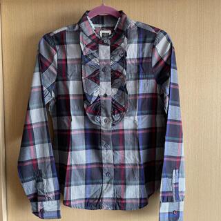 クイックシルバー(QUIKSILVER)のQuick silverレディースブラウスシャツサイズS(シャツ/ブラウス(長袖/七分))