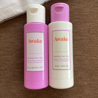 アウェイク(AWAKE)のAwakeヘアシャンプー&コンディショナー&ノベルティグッズ(サンプル/トライアルキット)