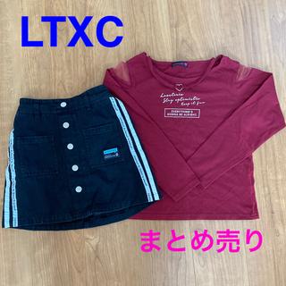 ラブトキシック(lovetoxic)のLTXC ロンT&スカート(Tシャツ/カットソー)