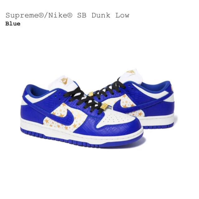 Supreme(シュプリーム)のSupreme Nike SB Dunk Royal Blue 28cm メンズの靴/シューズ(スニーカー)の商品写真