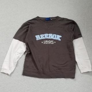 リーボック(Reebok)の男児160長袖カットソー(Tシャツ/カットソー)