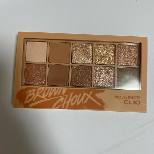 CLIO クリオ アイシャドウパレット 02 brown choux コスメ/美容のベースメイク/化粧品(アイシャドウ)の商品写真