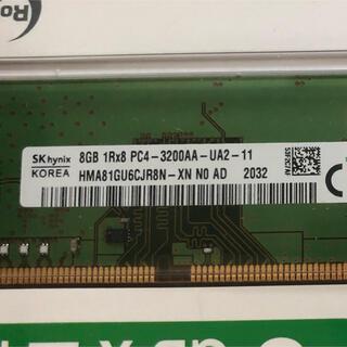 Lenovo - SK Hynix DDR4 3200 PC4 25600 8GB 1枚