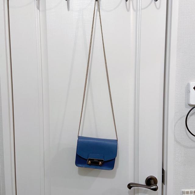 Furla(フルラ)のfurla メトロポリス ショルダーバッグ ブルー レディースのバッグ(ショルダーバッグ)の商品写真