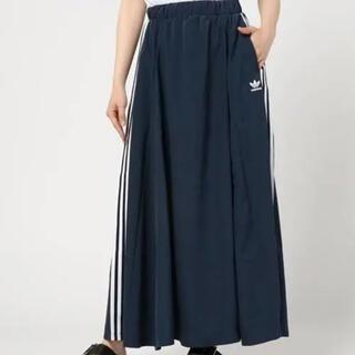 adidas - adidas originals サテンロングスカート