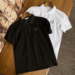 [2枚10000円送料込み]LOEWEロエベロゴTシャツ半袖男女兼用ポロシャツ