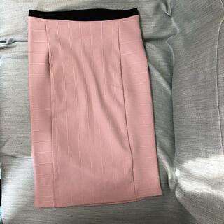 ZARA - ZARA タイトスカート ピンク