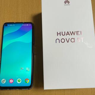 HUAWEI - HUAWEI nova5t 極美品