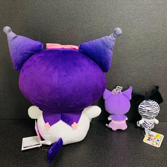 クロミちゃん ぬいぐるみ マスコット エンタメ/ホビーのおもちゃ/ぬいぐるみ(キャラクターグッズ)の商品写真