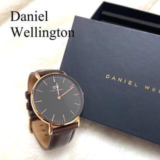 ダニエルウェリントン(Daniel Wellington)の【人気】Daniel Wellington ゴールド&ブラウン 石原さとみ(腕時計)
