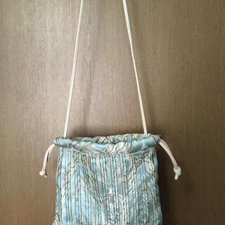 LOWRYS FARM - ローリーズファーム プリーツ巾着バッグ