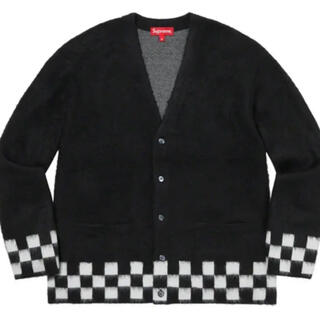 Supreme - Supreme Brushed Checkerboard Cardigan L