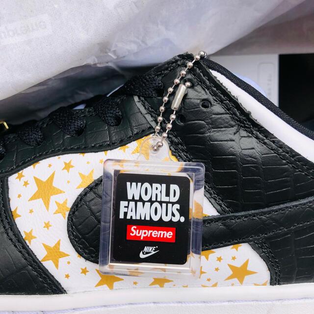 NIKE(ナイキ)のKenKen310様専用 Supreme NIKE DUNK Low メンズの靴/シューズ(スニーカー)の商品写真