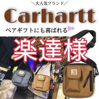 カーハート(carhartt)のSALE★Carhartt カーハート  ブラウン ショルダーバッグ ポケット有(ショルダーバッグ)