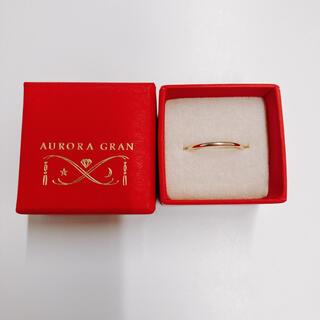 オーロラグラン(AURORA GRAN)のAURORA GRAM K10 プレーンリング(リング(指輪))